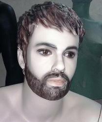 Beard Mannequin