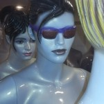 Face Mannequin With Glass